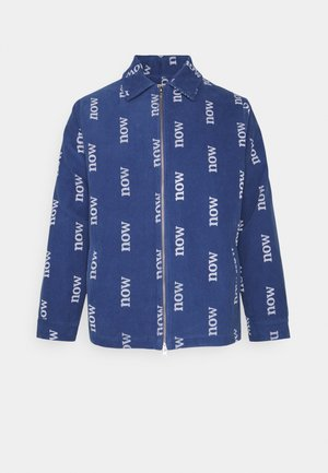 NOW NEW ORGANIC WORLD SPECIAL EDITION UNISEX - Jas - blue shadow/off-white