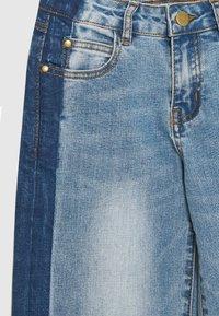 The New - RONINKA WIDE PANTS - Džíny Straight Fit - light blue denim - 2