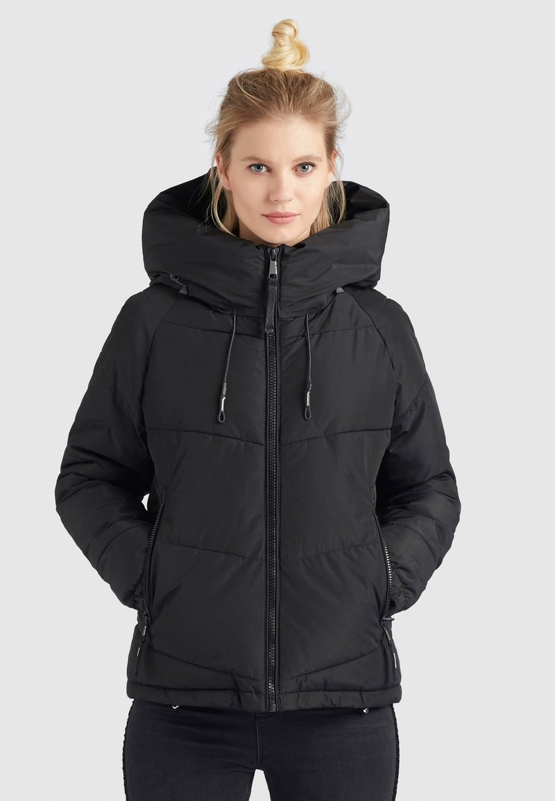 khujo - ESILA - Winter jacket - schwarz
