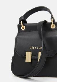 Maison Hēroïne - NANO MARLENE - Handbag - black - 5