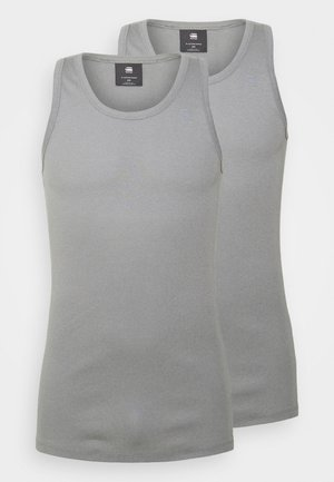 BASE TANK  2 PACK - Top - charcoal