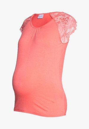 MLPAULINE CAP - T-shirts med print - georgia peach