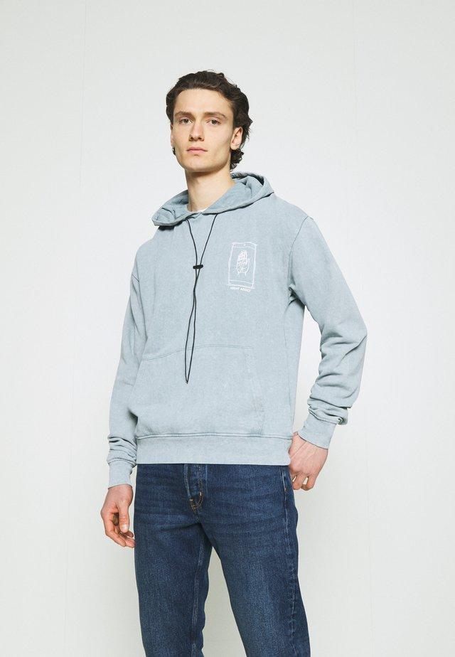 PALM UNISEX - Hoodie - blue