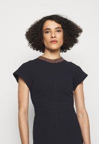 Victoria Beckham - Shift dress - navy - 3