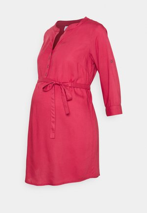 MLMERCY 3/4 WOVEN TUNIC - Tunica - holly berry