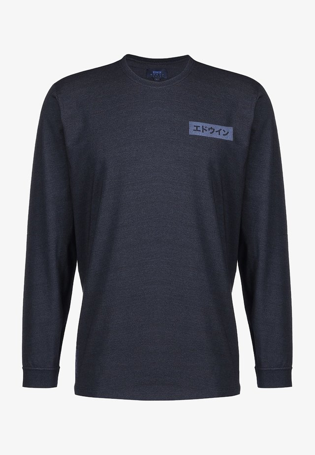 HARMONY - Camiseta de manga larga - dark indigo