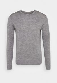 Jack & Jones - JJEMARK CREW NECK - Maglione - grey melange - 3