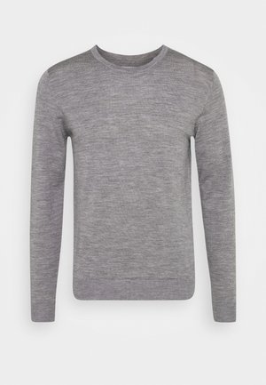 JJEMARK CREW NECK - Jumper - grey melange