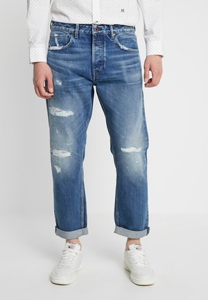 CALLEN - Relaxed fit jeans - med used destroy