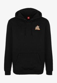 Santa Cruz - UNISEX NOT A DOT HOOD - Zip-up hoodie - black - 0
