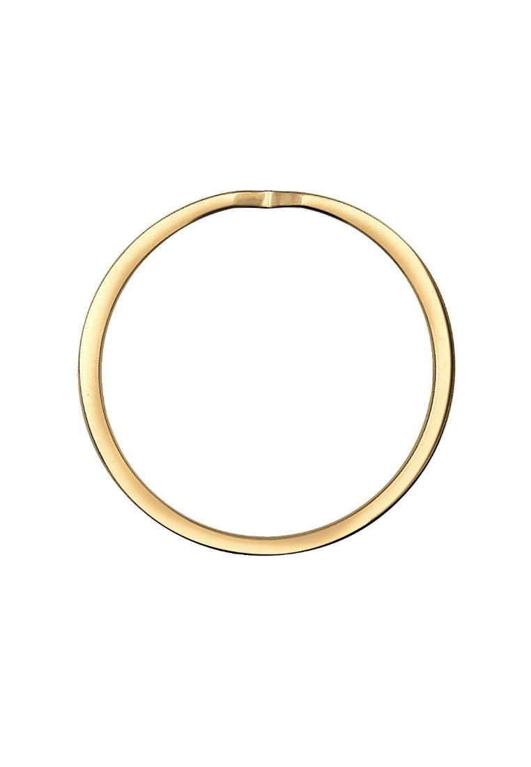 Elli Geo Cut-out Basic Trend - Ring Gold-coloured/gold