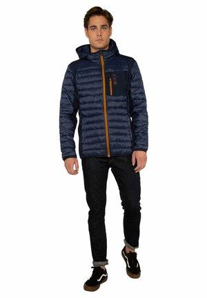 Waterproof jacket - ground blue