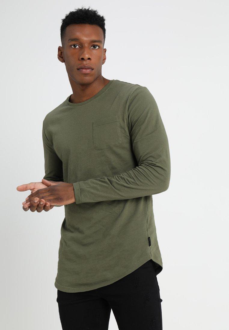 YOURTURN - Maglietta a manica lunga - khaki