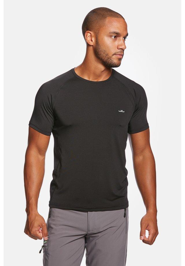 RIVARA - T-shirt print - black