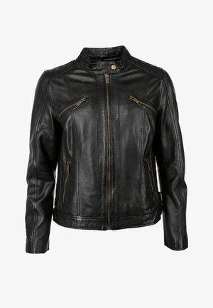 SPEECHLESS - Leather jacket - black