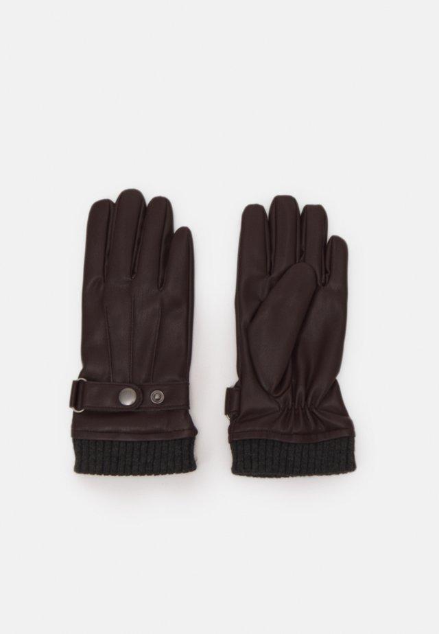 JACJOEY GLOVES - Gloves - brown stone