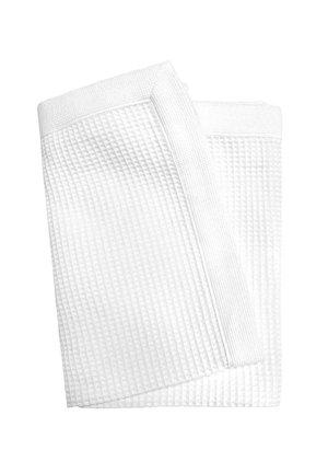 Beach towel - white
