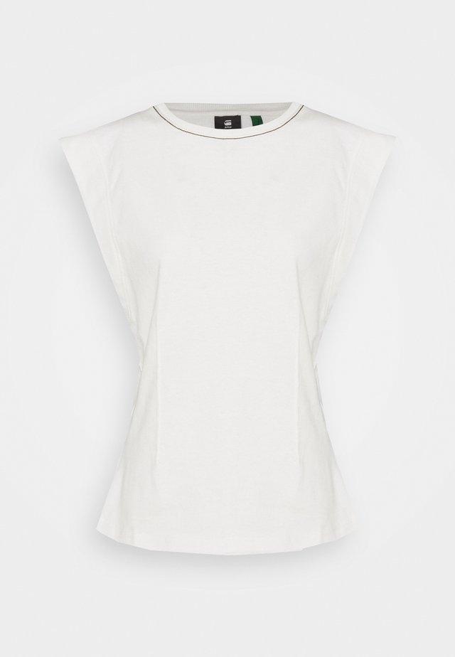 WAISTED - Print T-shirt - milk