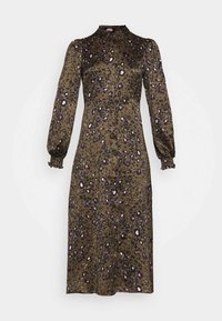 VMSANDRA LILLIAN SHIRT DRESS  - Shirt dress - beech/sandra