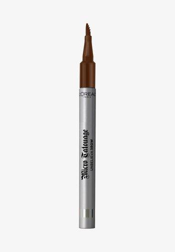 UNBELIEVA BROW MICRO TATOUAGE - Eyebrow pencil - 105 brunette