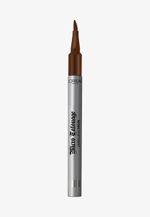 UNBELIEVA BROW MICRO TATOUAGE - Crayon sourciles - 105 brunette