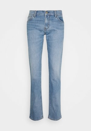 REBEL PANT SPICER - Slim fit jeans - blue light used wash
