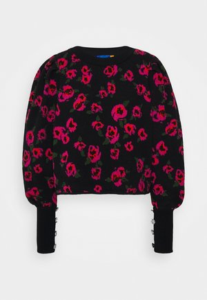 FLOWERBOMBCRAS - Pullover - black