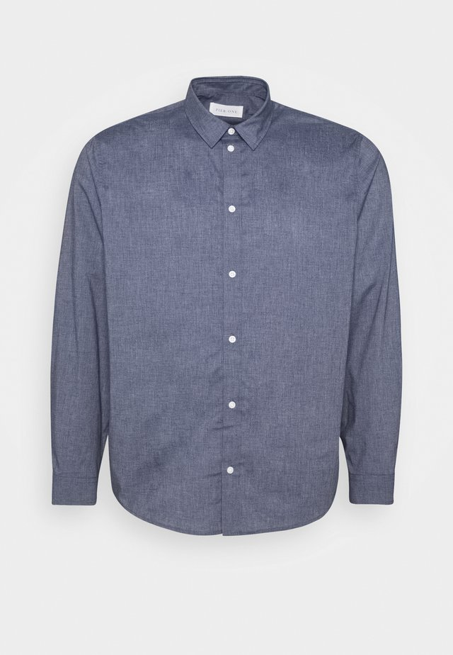 Camicia - mottled blue