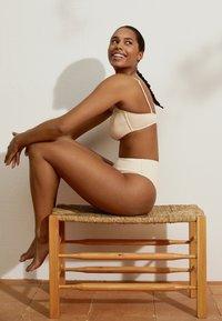 OYSHO - Bikini pezzo sotto - white - 5