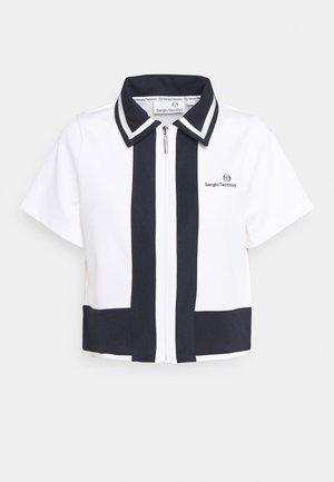 FRANCES - Button-down blouse - white