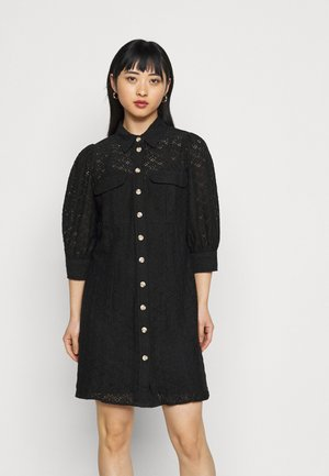 VMHENNY DRESS - Shirt dress - black