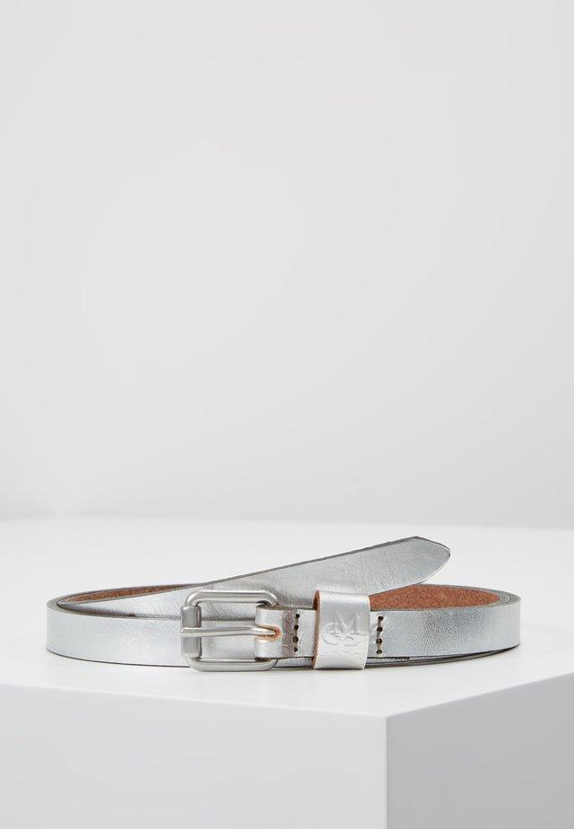 BELT LADIES - Belt - silver metallic
