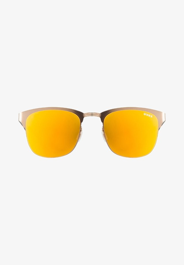 Sports glasses - gold