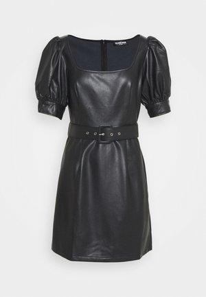 MION - Korte jurk - black
