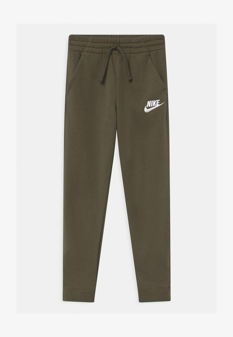 Nike Sportswear - CLUB  - Teplákové kalhoty - cargo khaki/white
