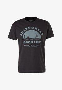black good life print