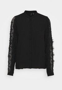 Vero Moda - VMZIGGA - Button-down blouse - black - 4
