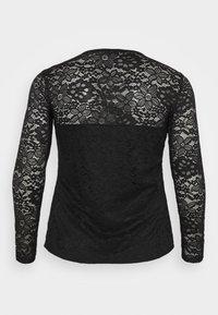 Anna Field Curvy - Pitkähihainen paita - black - 1