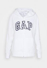 GAP - Sudadera con cremallera - white - 4