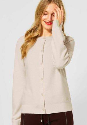 TIGHT FIT - Cardigan - beige