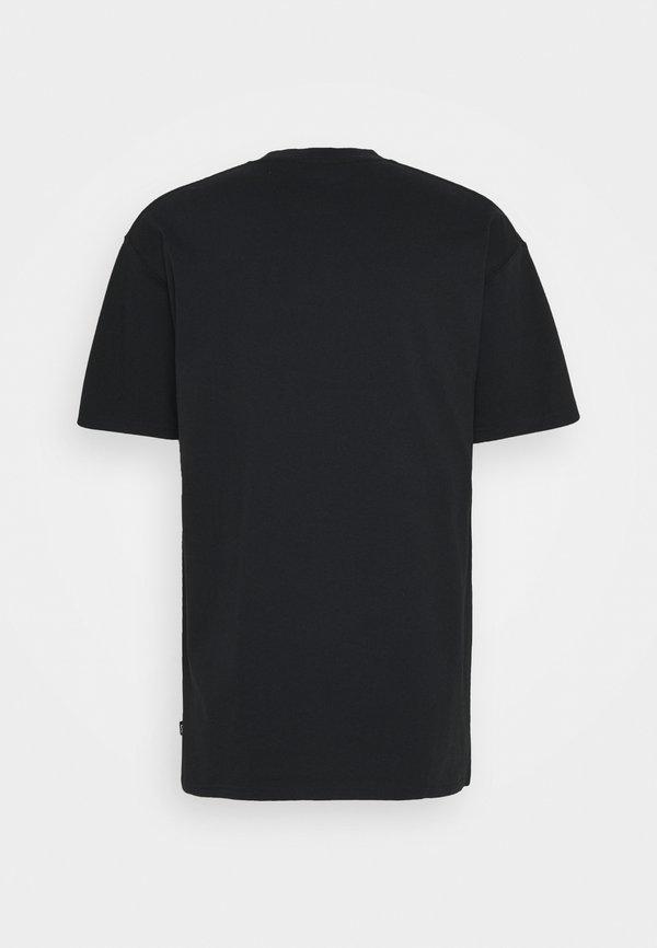 Nike SB TEE LOGO UNISEX - T-shirt z nadrukiem - black Nadruk Odzież Damska POWU BR 3