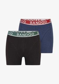 Bandoo Underwear - 2PACK - Pants - black,navy blue - 6