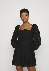 Fashion Union - DRESS - Cocktail dress / Party dress - black - 0