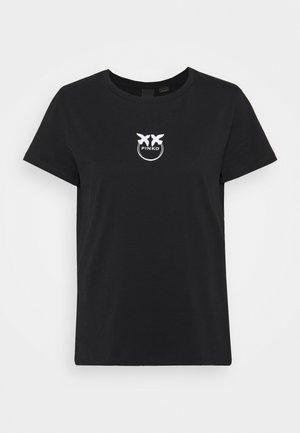 BUSSOLOTTO  - T-shirts med print - black