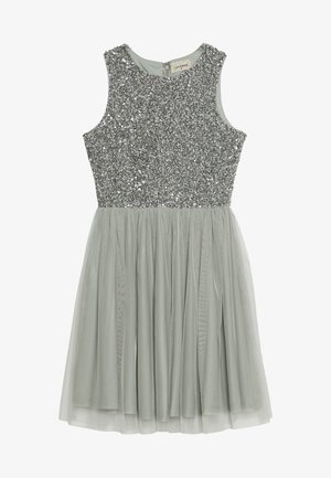 PICASSO SKATER - Cocktail dress / Party dress - mint as per madison