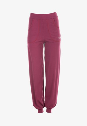 Tracksuit bottoms - berry love