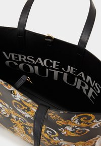 Versace Jeans Couture - Tote bag - black/yellow - 4