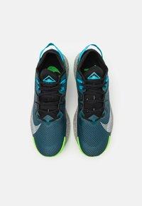Nike Performance - PEGASUS TRAIL 2 - Zapatillas de trail running - dark teal green/light silver/black - 3
