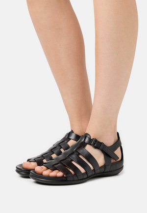 FLASH - Sandals - black sambal
