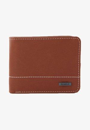 Wallet - mottled light brown